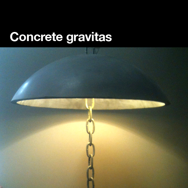 Concrete Pendant LED