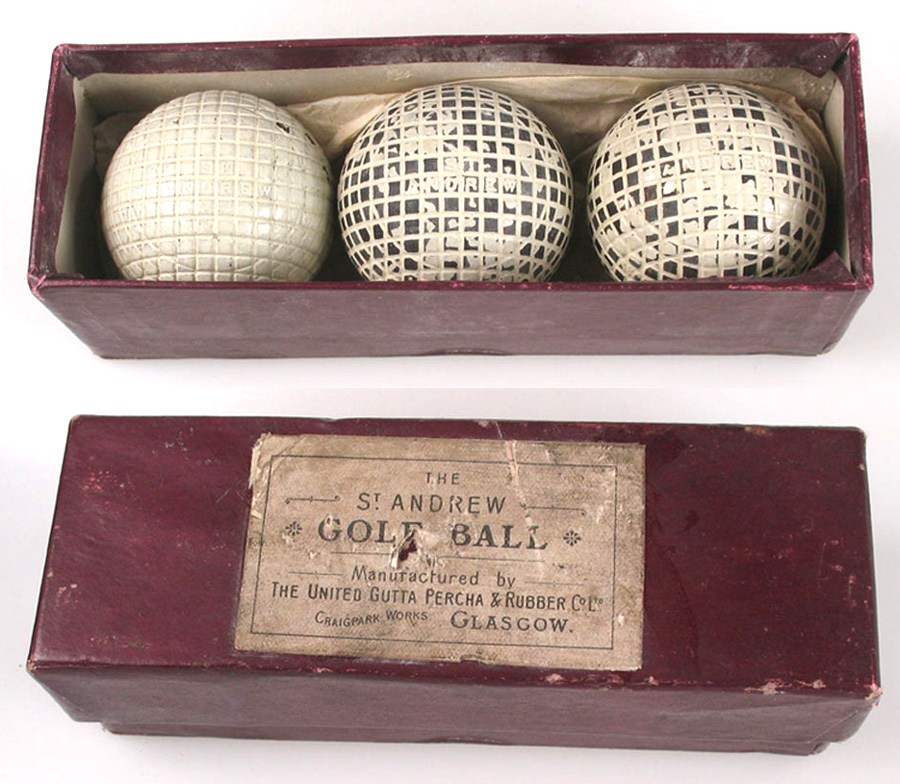 Gutta Percha Golf Ball Gutta Percha Golf Balls